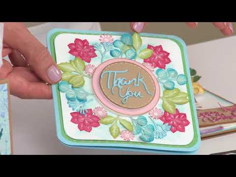 David Tutera Botanical Die Bundle On HSN!