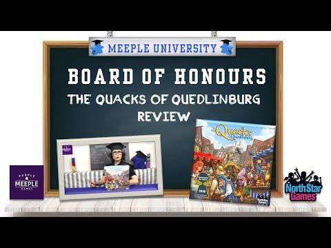 The Quacks of Quedlinburg Board Game Review - Board of Honours