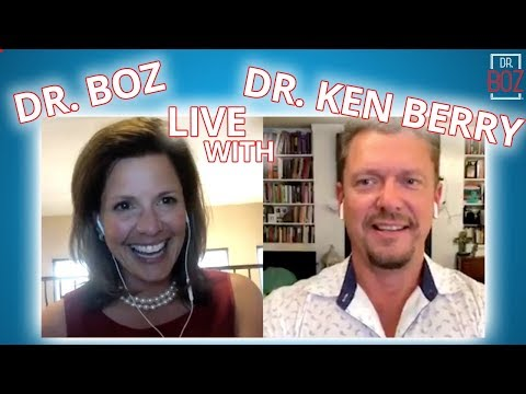 Dr  Boz Live with Dr  Ken Berry about being a Doctor on Youtube and Keto!