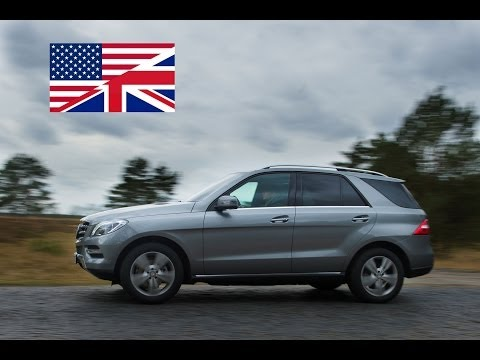 2013 Mercedes-Benz ML 350 BlueTEC 4MATIC - Exhaust, Test Drive, and In-Depth Review (English)