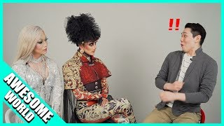 [SHOCKED!!] KOREANS MEET DRAG QUEENS FOR THE FIRST TIME!