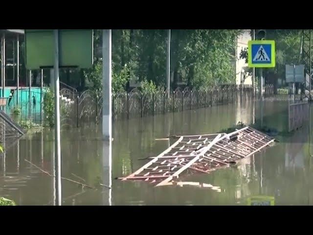 Золотодобытчики помогут утонувшим городам и селам