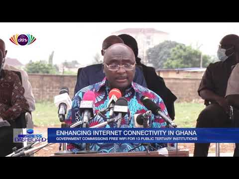 Government commissions free wifi for 13 public tertiary institutions | Business Dashboard