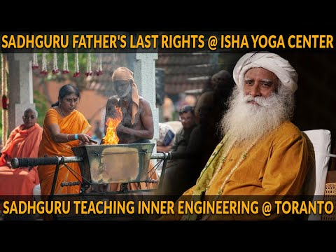 Watch Sadhguru's message from Toronto, as he misses his Father's Kalabhairava karma