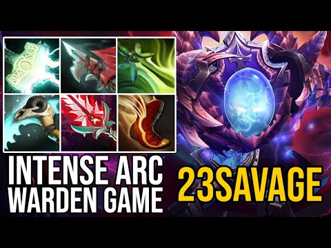 The Most Intense 23SAVAGE Arc Warden Game Ever. Road To Top 1 SEA.