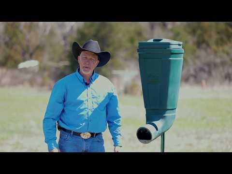 BEST Gravity Deer Feeder - Redneck T-post Deer Feeder