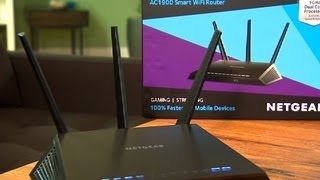 The Netgear R7000 is a big and bold Wi-Fi router