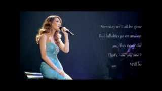 Celine Dion - Lyrics - Lullaby (Goodnight My Angel)