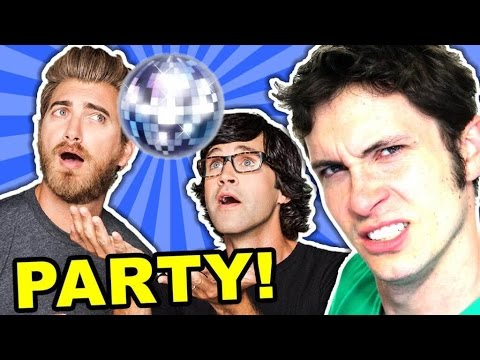 RHETT AND LINK PARTY!!! (Amazing Facts #1)