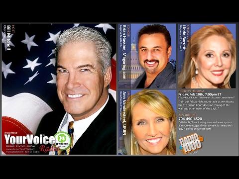 YourVoice Radio w/Bill Mitchell - 2/10/2017