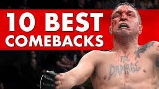 10 Greatest Comeback Fights in MMA