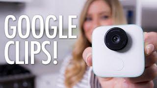 AI Camera - Google Clips Unboxing!