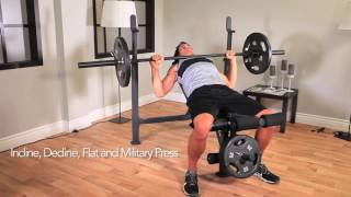 Competitor Olympic Weight Bench | CB-729