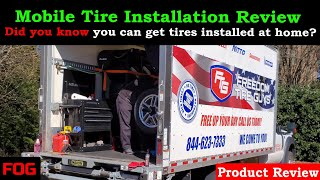 Mobile Tire Installation Service Review (Freedom Tire Guys)