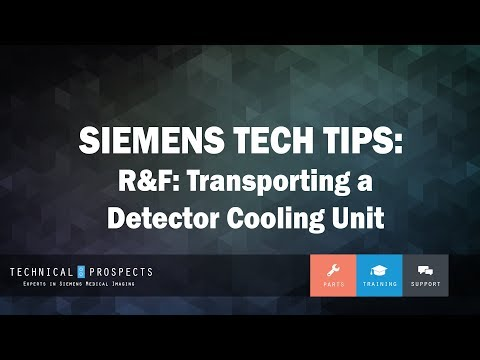 Transporting a Detector Cooling Unit