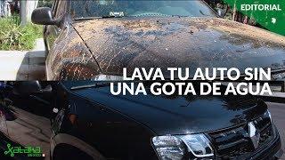 Sin Agua: la app mexicana para limpiar tu auto con solo 240ml