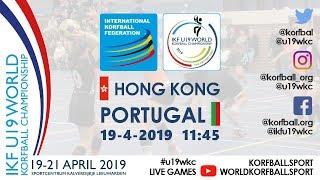 IKF U19 WKC 2019 HKG – POR