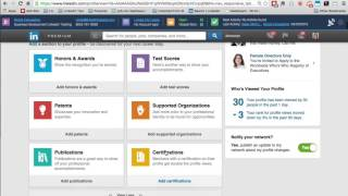 How To Add Credentials To Your LinkedIn Profile