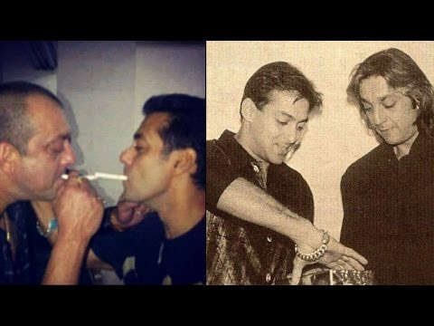 Salman Khan & Sanjay Dutt's Unseen Pictures Prove That They Are Real Bhai's Of Btown