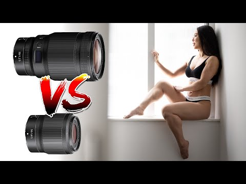 Nikon Z 50mm SHOWDOWN - f1.2S vs 1.8S