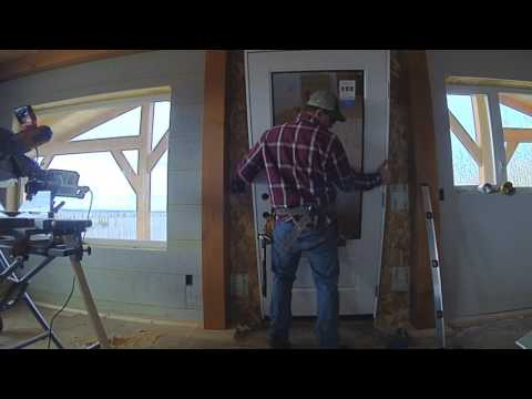 One Year In!  Construction House Tour! - EP 31 Alaska Dream House Build
