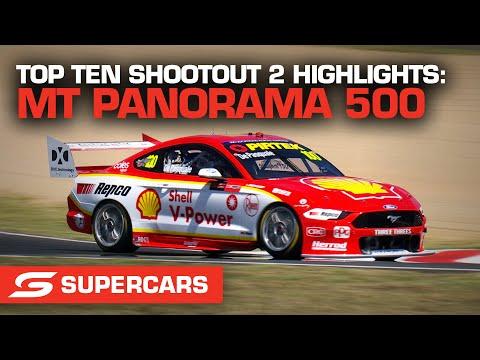 SUPERCARS 2021 Repco マウント・パノラマ500 shootout2のハイライト動画