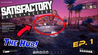 A NEW BEGINNING!! (Satisfactory early access) Episode 1
