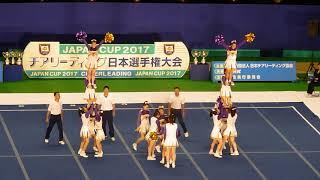梅花高校RAIDERS決勝JAPANCUP2017