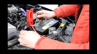 Установка аккумулятора на Lexus LX470 4.7 бензин - Rocket 90Ah JR+
