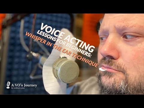 Voice Acting Lessons For Beginners