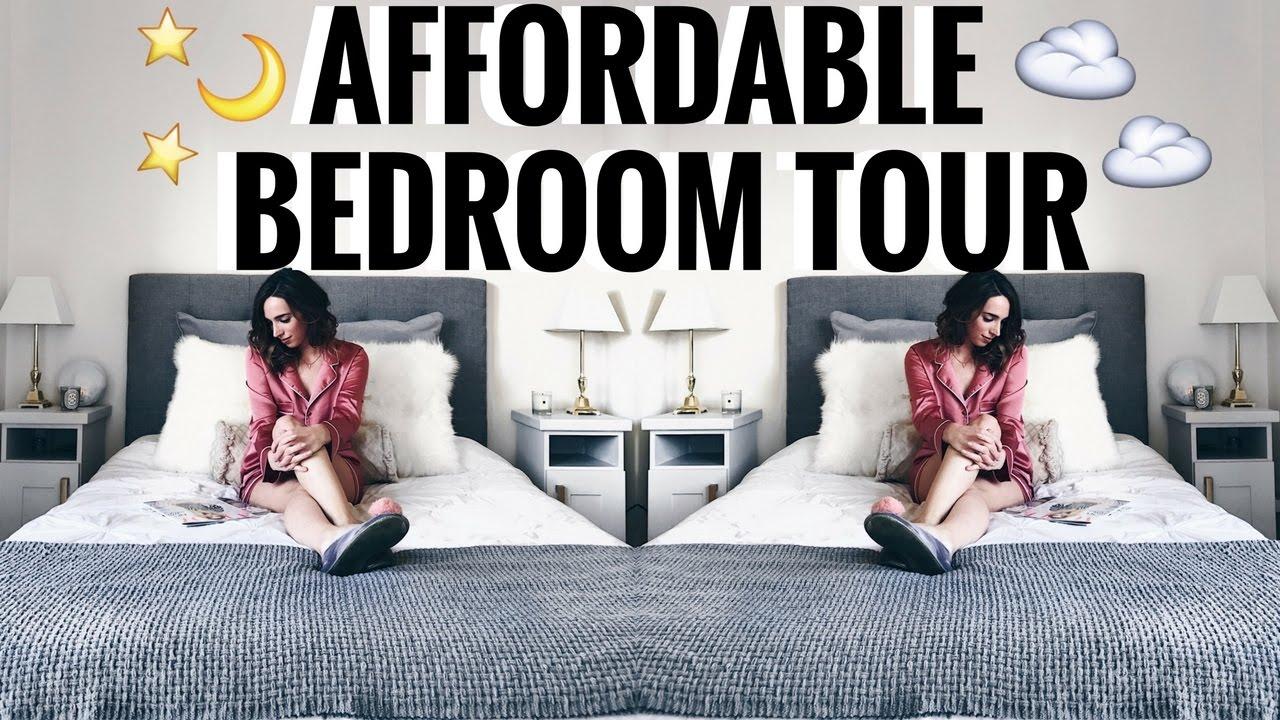 AFFORDABLE BEDROOM TOUR & EASCA MATTRESS REVIEW ☁️ CIARA O DOHERTY