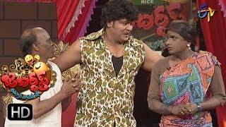 Bullet Bhaskar Sunami Sudhakar Performance | Jabardsth | 27th April2017 | ETV Telugu