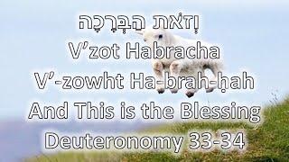 Torah Portion: V'zot Habracha