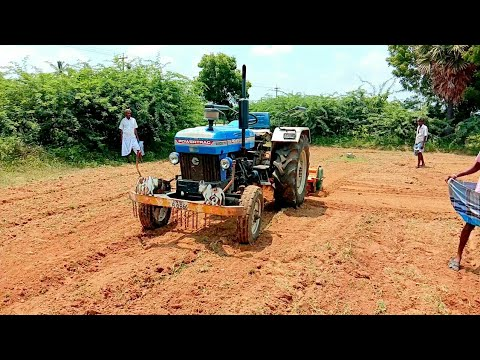 With out driving |Powertrac 445 DS plus Tractor ||tractor videos |All IN All