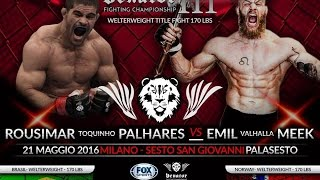 "Emil Weber ""Valhalla"" Meek vs. Rousimar Palhares Full Fight"