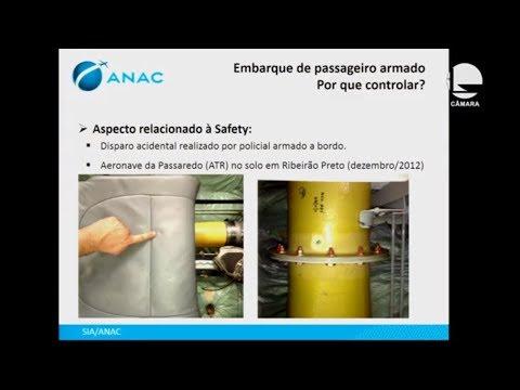 Segurança Pública - Porte de arma por agente de segurança em avião - 21/08/2019 - 16:29
