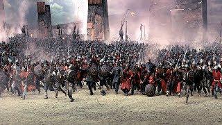 苏丹国王率30万大军,与拜占庭决一死战,场面震撼惨烈!