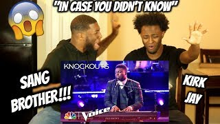 """Kirk Jay Astounds Again with """"In Case You Didn't Know"""" - The Voice 2018 Knockouts"""