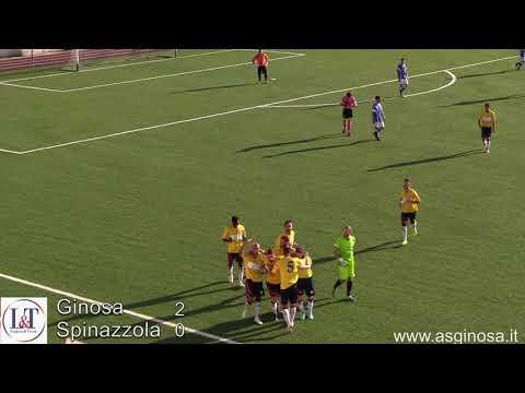 Preview video GINOSA-SPINAZZOLA 2-0 Arriva la prima e meritata vittoria della stagione.