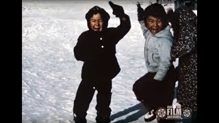 Boys demonstrate dance skills, circa 1950s