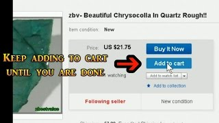 How to request an invoice for combined shipping eBay on Buy It Now auctions