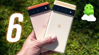 Google Pixel 6 & Google Pixel 6 Pro Unboxing & First Look!
