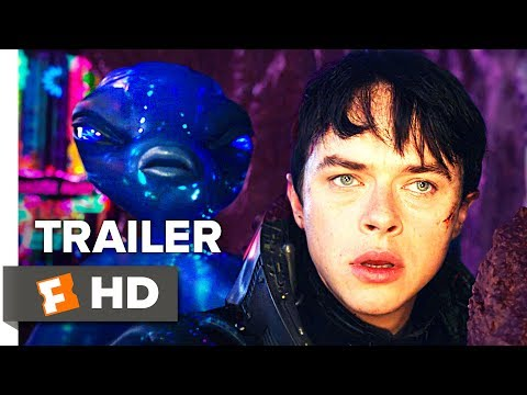 Valerian and the City of a Thousand Planets Movie Trailer