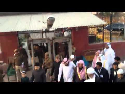 استقبال الشيخ الشريم في الهند .. احتفال بمعنى الكلمة
