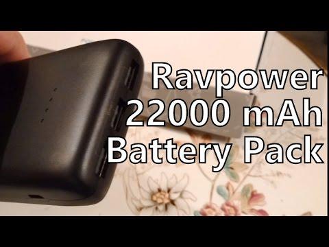 Ravpower 22000 mAh USB Battery Pack ACE RP-PB052 Review