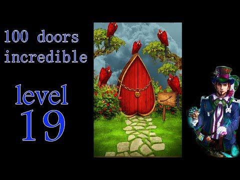 100 doors incredible,Walkthrough/Невероятный мир прохождение level-19
