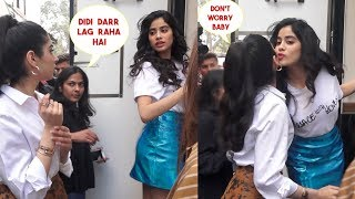 Janhvi Kapoor's Sweet Gesture For Sister Khushi Kapoor Publicly Will Melt Your Heart