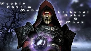 Weekly Skyrim Mods: Tribunal Robes and Mask, Castle Dracula