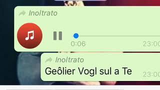 Geolier Vogl Sul A Te (audio Ufficiale)