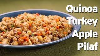 Quinoa Turkey Pilaf